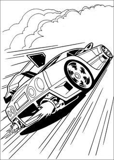 Disegni da colorare Hot Wheels 4