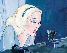 Pinocchio - Blue Fairy - Original - Jim Salvati - World-Wide-Art.com