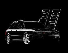T Shirt for audi rs2 fans Classic Quattro RS3 RS4 TT  S - 5XL  #SOLS #BasicTee