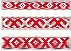 """Photo from album """"Сундук"""" on Yandex. Russian Embroidery, Blackwork Embroidery, Folk Embroidery, Embroidery Patterns, Bead Crochet Patterns, Mosaic Patterns, Loom Patterns, Beading Patterns, Inkle Weaving"""