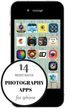 14 Must Have Photography Apps For Iphone | twitter.com/CCainCabin | pinterest.com/dawncain/ | #photographyiphoneapps