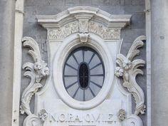 Catania - Finestra barocca - Foto Giovanni Dall'Orto, gennaio 2006 - Cattedrale di Sant'Agata - Wikipedia