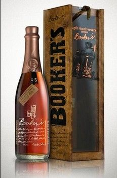 One of my husbands xmas gifts his favorite Bourbon #Bookers