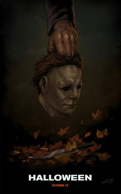 "i want to present a motion art that inspired from ""halloween"" movie trailer.blink lamp looks like a classis horror movie effect and the shadow from light house make a text ""Halloween"" , and as we k. Michael Myers, Halloween Quotes Movie, Halloween Horror, Halloween Film, Halloween 2018, Halloween Stuff, The Killers, Horror Posters, Horror Icons"