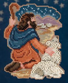 Mill Hill Nativity Benjamin Christmas Ornament Cross Stitch Kit