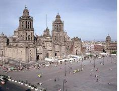 Catedral y Zocalo, Mexico DF