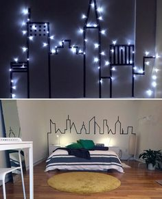 Cabeceiras para cama que você mesma pode fazer usando fita isolante - Casinha Arrumada