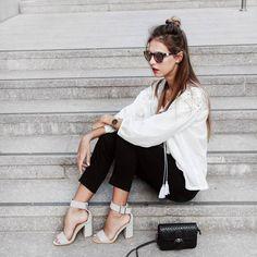 Minimal boho chic look | TalishaSoll