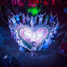 Electric Forest heart!