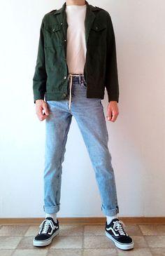 Vintage Outfits Discover vans old skool boys guys outfit Retro Outfits, Vintage Outfits, Cool Outfits, Casual Outfits, 90s Style Outfits, Guy Outfits, Grunge Outfits, 90s Outfit Men, Vans Outfit