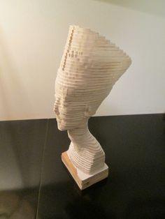 Nefertiti ---- Fai da te - hobby legno - 3d model su Facebook.com