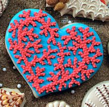 Coral Heart (The Cookie Artisan)