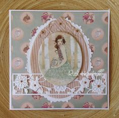 A Passion For Cards: Demo at Craftworld, Belfast on Saturday June - My Tonic Studios creations - Crafts world Belfast, Tonic Cards, M Craft, 3d Sheets, Creation Crafts, Craftwork Cards, Pretty Cards, Flower Tutorial, Cardmaking