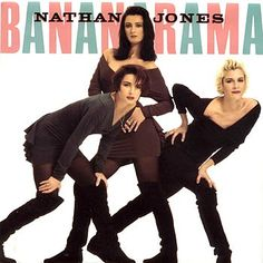 Bananarama - Nathan Jones single sleeve from 1988