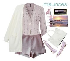 """""""The Perfect Blouse with maurices: Contest Entry"""" by grozdana-v ❤ liked on Polyvore featuring mode, maurices, American Apparel, Monki, John Richmond, Vince Camuto, CARGO, Max Factor en Essie"""