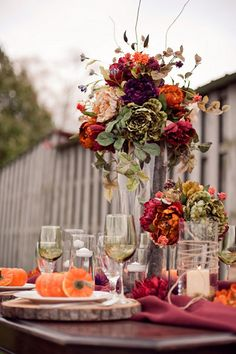 The number-one way to spend less on wedding flowers, regardless of what season you're getting married in!