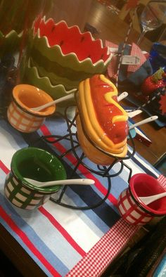 Pier 1 Hotdog Spinner - will go well with my Koegel Hot Dogs and Flint Coney Island Sauce