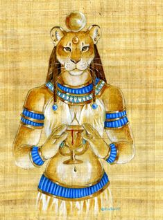 Egyptain Goddess Sekhmet- Witchcraft Skills / ShapeShifting /Shamanism / Changing body shape