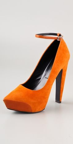 Theyskens' Theory Aki Platform Pumps