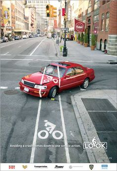 Bicycle Safety Coalition - NYC Look Campaign