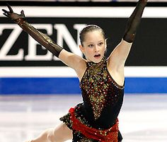 Julia Lipnitskaia is looking to become the third Russian lady in the last four years to win gold at the world junior championships.
