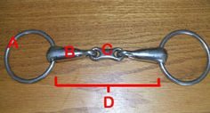 Parts of the Snaffle Bit