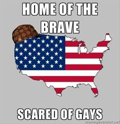 Are we truly the Home of the Brave? How will you make a move towards revolution and equality for the LGBTQ community? Find out more about how you can make a difference here at http://www.greatnonprofits.org/categories/view/lgbtq