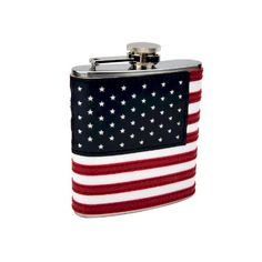 Top Shelf Flasks Stitched American Flag Flask 6 oz >>> Read more reviews of the product by visiting the link on the image.