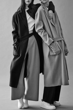 Go for a maxi coat to stay extra warm this winter!