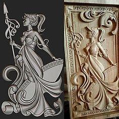 Custom 3d sculpture for CNC-3d-relief-sculpture-wood-relief-sculpture-jpg