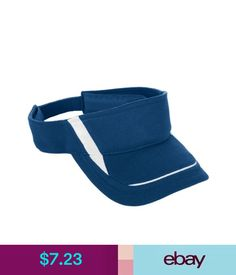 e3c0d3efebd Unisex Accessories Augusta Sportswear Adjustable Wicking Sweatband Folds  Down Mesh Edge Visor. 6275  ebay