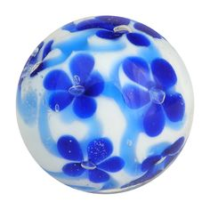 Kind Of Blue, Love Blue, Marble Price, Marble House, Dark Blue Flowers, Old Pottery, Glass Marbles, Glass Paperweights, Little White