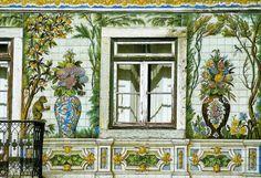 Fachada da Casa Viúva Lamego, Lisboa, Portugal   © Joana Dias