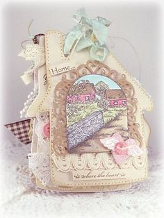 Heartfelt Creations | Chateau Gate Album Page 1