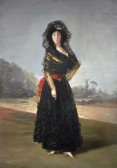 Francisco Goya (Spanish, 1746–1828) - 'María del Pilar Teresa Cayetana de Silva Álvarez de Toledo y Silva, Thirteenth Duchess of Alba' 1797