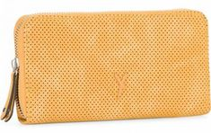 !!!Langbörse Romy Basic Yellow gelb Suri Frey gestanztes Lochmuster Suri Frey, Zip Around Wallet, Pocket Wallet, Die Cutting, Artificial Leather, Yellow, Dime Bags