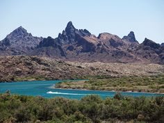 Nat Geo Route 66- Picture of the Colorado River at Needles, California