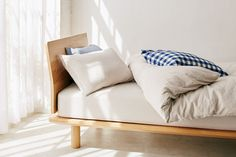 Muji Hotel Is About to Launch at a City Near You Home Bedroom, Room Decor Bedroom, Muji Bed, Muji Style, Muji Home, Minimalist Bed, Store Interiors, Bed Styling, Interior Design