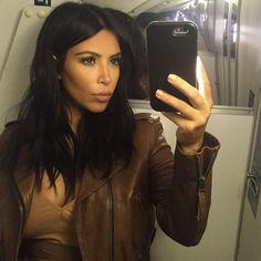 Kim Kardashian é uma das celebs mais seguidas no Instagram.
