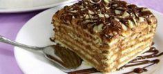 Reteta tort de biscuiti cu crema de ciocolata