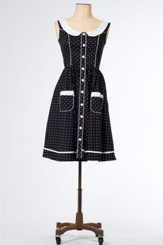 The Black and White Alala Dress