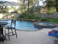 swim spa small backyard - Google Search