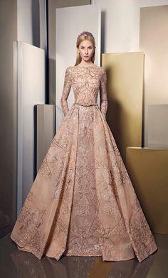 Ziad Nakad Evening Dress