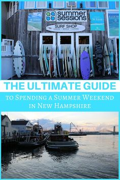 The Ultimate Guide to Spending a Summer Weekend in New Hampshire! All you need to know about the Granite State. #ad #LiveFreeNH