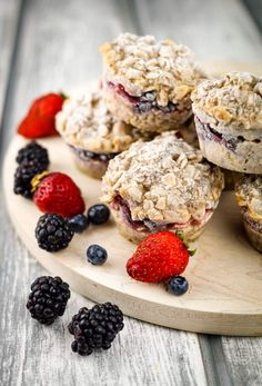"""Healthy Recipes : Illustration Description Frozen Oatmeal Cups – Slender Kitchen """"Sweat is fat crying"""" ! -Read More – Best Breakfast Recipes, Make Ahead Breakfast, Breakfast Ideas, Brunch Recipes, Slender Kitchen, Oatmeal Cups, Flax Seed Recipes, Freezer Meals, Freezer Recipes"""