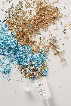 Gender Reveal Confetti Push Pop