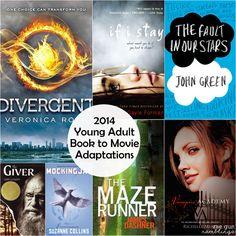 7 YA Books to Movie Adaptations in 2014 - Rae Gun Ramblings