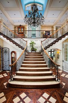 An illustrious staircase for the home