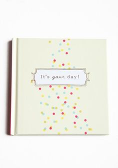 It's YOUR day book. Celebrate every day! $5.00