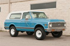 Sold* at Palm Beach 2012 - Lot #34.2 1972 CHEVROLET BLAZER 2 DOOR